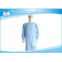 Buy cheap Unisex Spunbond Polypropylene PP Disposable Isolation Gowns IN Medical use from wholesalers