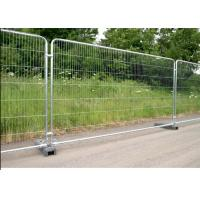 Buy cheap Galvanized Temporary Mesh Fence Removable Easy Installation 2.1m Height from wholesalers