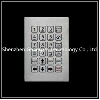 Buy cheap Easy Maintenance Metal Numeric Keypad Vandal Proof For Self Service Equipment from wholesalers