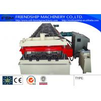 Buy cheap 15KW 380V Metal Deck Roll Forming Machine With 2.0mm GI Steel 900mm width from wholesalers