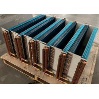 Buy cheap Copper Tube Aluminum Fin Heat Exchanger , Home Portable AC Heat Exchanger from wholesalers