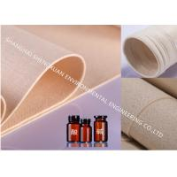 Buy cheap Polyphenylene Sulfide Industrial Filter Cloth , Dust Filter Fabric For Waste Incineration from wholesalers
