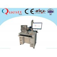 Buy cheap Long Lifetime Fiber Laser Marking Machine 30W Power 3 Axis from wholesalers