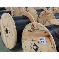 Buy cheap ADSS Fiber-optic Cable, Suitable to Install in High Voltage Areas, with All-dielectric Structure from wholesalers