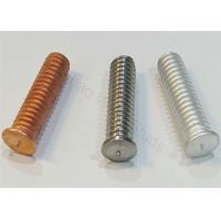 Buy cheap Coppered Steel Threaded Stud Welder Pins 1/4 For Capacitor Discharge Welder from wholesalers