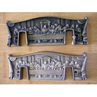 Wholesale Last Supper Design Casket Corner Plaques , Resin Coffin Accessories Antique Copper Color from china suppliers
