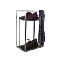 Buy cheap Smooth Design Stainless Steel Metal Box Frame , Tie Scarf Display Rack Without Injuring Hands from wholesalers