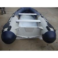 Hypalon Tube Commercial Aluminum Fishing Boats Size Customized Wtih Foot Pump