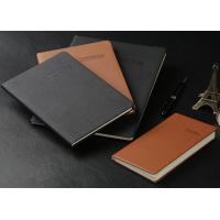 Buy cheap A5/A4 Soft cover PU leather Notebook (red, black, blue...) with super quality from wholesalers
