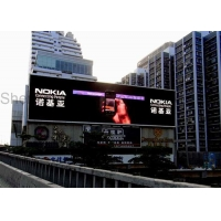 Buy cheap HD Outdoor Commercial Advertising LED Video Screens SMD RGB Full Color 2.5mm LED Video Wall Display 1920Hz Refresh from wholesalers