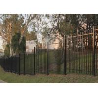 Buy cheap Tubular Security Garrison Fencing Panels 2.1mx2.4m from wholesalers