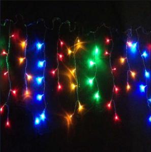 China RGB led icicle lights on sale