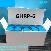 Buy cheap Purity 99% GHRP-6 Peptides 5mg*10vial Bodybuilding Human Growth Hormone For Fat Loss from wholesalers