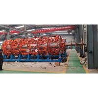 Buy cheap Steel Wire Armouring Machine 48+48 Nos Bobbins DIN400 0.8-4.0 mm from wholesalers