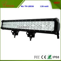 China 126 Watt 20 Inch Double-Row Cheap LED off-Road Light Bar for Trailer and Trucks on sale