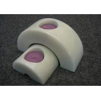 Buy cheap Set 2 Natural Stone Candle Holders Hand Made Material Solid Marble Material from wholesalers