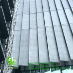Buy cheap FOSHAN PVDF  Aluminum Facade Panels Non Standard  , Building Exterior Corrugated Aluminium Cladding from wholesalers