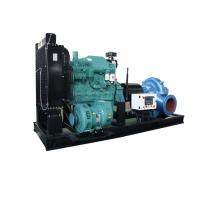 Buy cheap Fire Control High Pressure Diesel Powered Water Pumps Centrifugal Double Suction from wholesalers