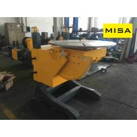 Buy cheap 15T Manual Elevating Welding Positioner With 1.1kw Turning Power For Vessel Welding from wholesalers