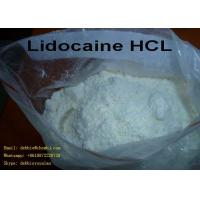 Buy cheap Lidocaine hcl CAS: 73-78-9 White Powder for Pain Reliving Local Anaesthesia from wholesalers