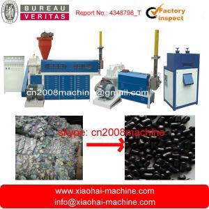 Pe Pp film bag Plastic Recycling Machine belt conveyor  Shredder  screw conveyor  crusher Manufactures