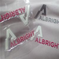Wholesale Eye Catching Reflective Embossed Heat Transfer Clothing Labels TPU With Hot Melt Glue from china suppliers