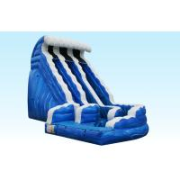 Buy cheap Giant 18FT Ocean Wave Slide , PVC Material Inflatable Outdoor Water Slides from wholesalers