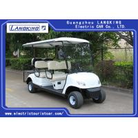 Buy cheap White color 48V /3KW DC motor Electric Golf Carts With 6 Seats / China from wholesalers