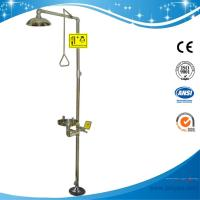 Buy cheap SH712BS-red sus 304 Safety shower & eyewash station,SS304 emergency eye wash in China lab eye wash ansi Z358.1-2009! from wholesalers