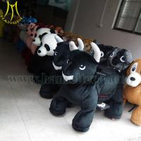 Hansel walking and coin operated ride toys panda animal ride Manufactures