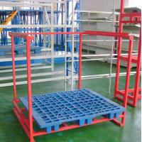 Buy cheap Customized Car Accessories Tire Metal Shelf Metal Foldable Stacking Rack Warehouse from wholesalers