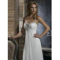 Buy cheap A-Line Halter Sweetheart Court Wedding Dresses from wholesalers