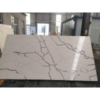 Buy cheap Black Vein Calacatta Kitchen Countertops , Waterproof Calacutta Quartzite Countertops from wholesalers