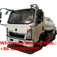 Buy cheap 2020s new cheapest price SINO TRUK HOWO RHD 4CBM fecal suction truck for sale, HOT SALE! VACUUM SLUDGE TANKER TRUCK from wholesalers