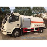 Buy cheap Mini Liquid Tank Trailers With LPG Dispenser / Cooking Gas Dispense 5 Speed Truck from wholesalers