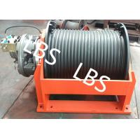 China Automatic  Compact  Marine Hydraulic Towing Winch With Lebus Groove Drum on sale