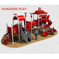 Buy cheap Fire Control Outdoor Playground Equipment Slide HD-HXF015-19094 product