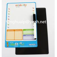 Buy cheap OEM Magnetic dry magnet white erasable board with pen from wholesalers