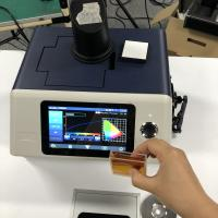 Buy cheap 3nh YS6060 benchtop spectrophotometer with PC software for Transmittance and reflectance and Haze of colored glass from wholesalers