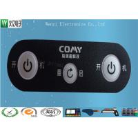 Buy cheap 0.175mm PET Membrane Switch Overlay With Matte Finish And Silver Contact Pad Custom product