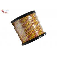 Buy cheap Type K/J/T/S/B/R Thermocouple Cable Wire PVC / Fiberglass Insulated Cable from wholesalers