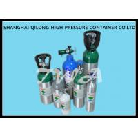 Wholesale 2.5L High Pressure Aluminum Gas Cylinder L Medical Oxygen Tank from china suppliers