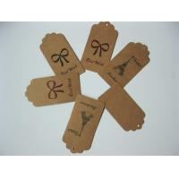 Buy cheap Eco Friendly High Gloss UV Bag Custom Clothing Hang Tags for apparel from wholesalers
