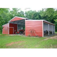 Buy cheap Durable Shade Steel Garage Buildings Pre Manufactured Carports Labor Saving from wholesalers