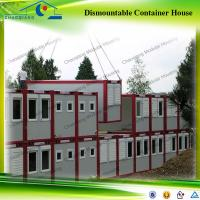 Buy cheap Hot Sale Flat Pack Modular Steel Frame Container House from wholesalers