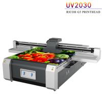 Buy cheap UV Flatbed Digital Printing Machine For Advertising Printing Industry from wholesalers