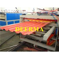 Buy cheap Plastic Roofing Sheet Making Machine , PVC Roof Panel Machine Production Line from wholesalers