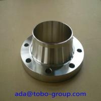 Buy cheap Industrial UNS 2201 S32750 / S32760 Long Weld Neck Flange 1/2- 48 from wholesalers