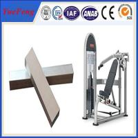 Buy cheap Hot! china supplier OEM anodized aluminum tube for gym equipment from wholesalers