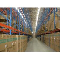 Buy cheap Long Span Metal Heavy Duty Pallet Racking System , Warehouse Pallet Racks from wholesalers